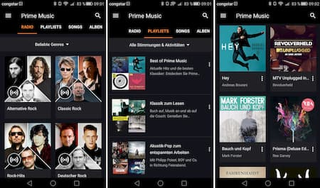 Amazon Prime Radiosender