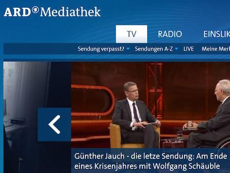 Entertain Mediathek Ard