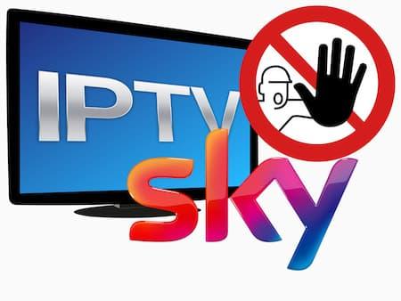 Sky Illegal über Internet