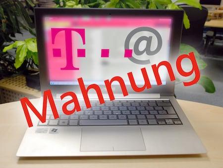 Telekom Mahnung Fake