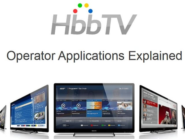 Die HbbTV Operator Application