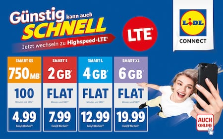 LTE bei Lidl Connect