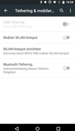 tethering mobil ins internet mit dem handy als modem. Black Bedroom Furniture Sets. Home Design Ideas